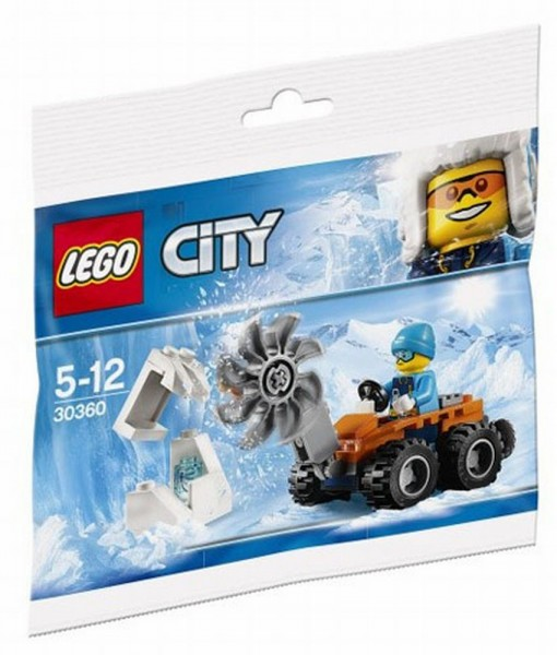30360 Lego City Artic IJszaag Polybag