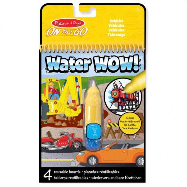 Verven met Water - Voertuigen