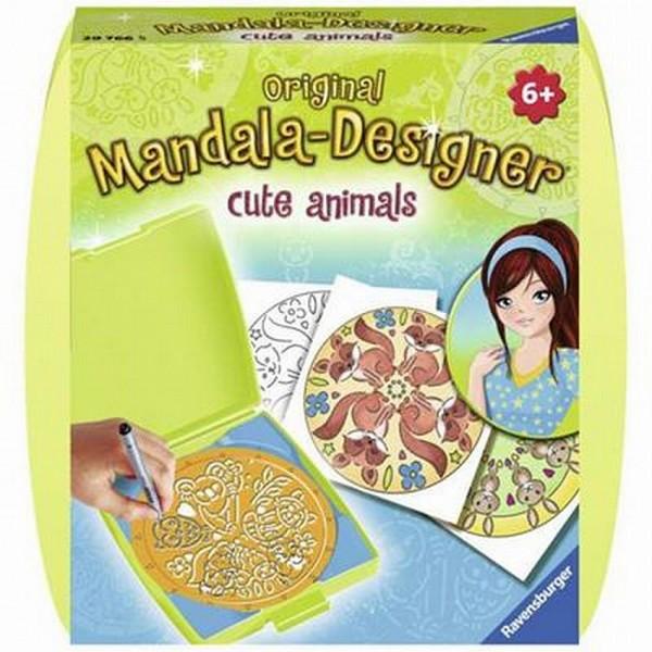 Mandala Designer Mini Cute Animals
