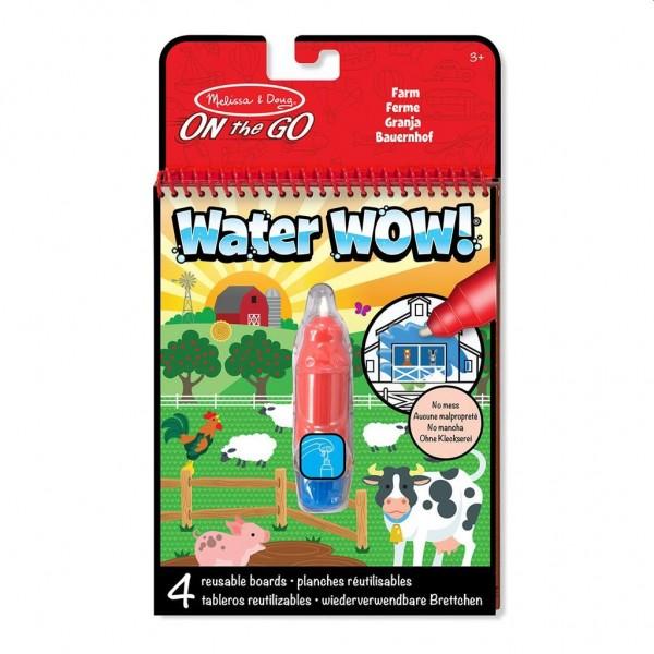 Verven met Water - Boerderij