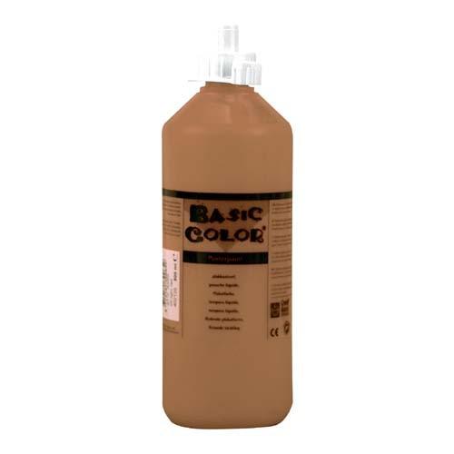 Plakkaatverf Bruin 500 ml
