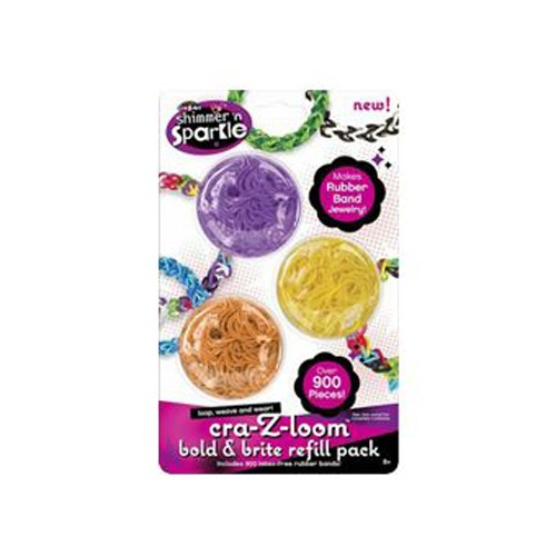 Asmodee CraZloom Ultimate Refill n° 2 (3 colors orange, yellow, violet) Hobby & Creatief
