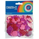 Create-It Foam Hartglitters 132 Stuks