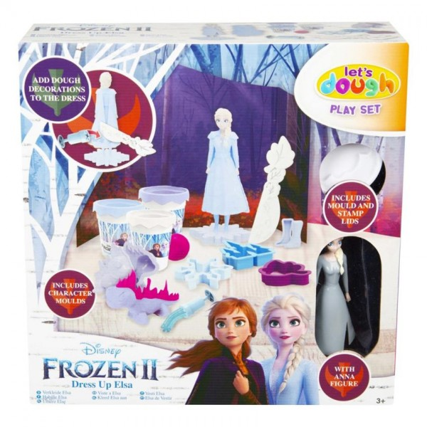 Disney Frozen 2 Dough Scene Elsa