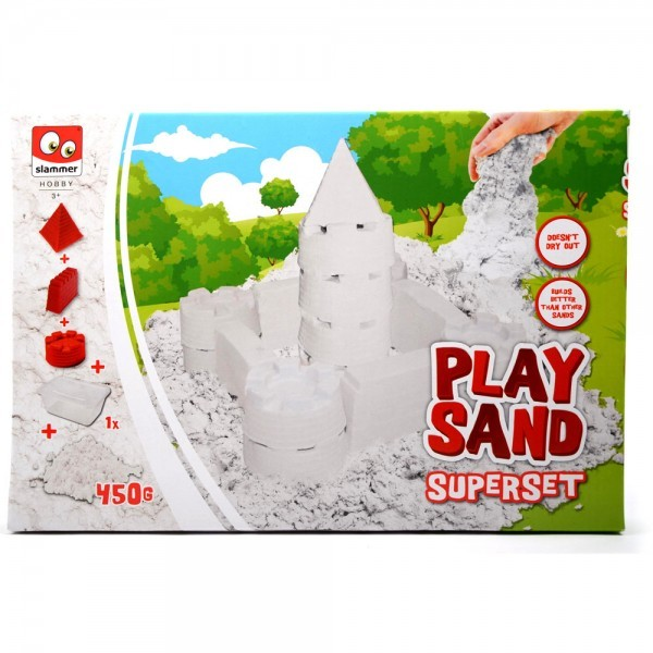 Play sand wit