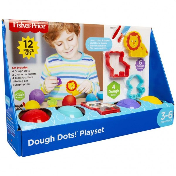 Fisher Price Dough 12-delig