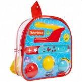 Fisher Price Dough Rugzak met 3 Ballen