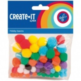 Create-It Pompons 78 Stuks