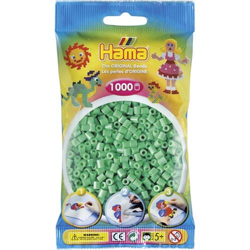Hama strijkkralen mintgroen(011)