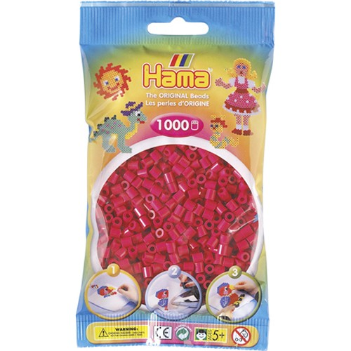 Hama Strijkkralen Paarsrood (029) Hama