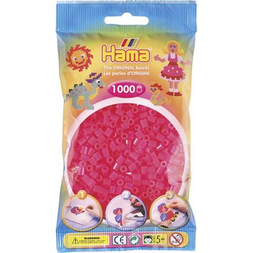 Hama strijkkralen fuchsia (032)