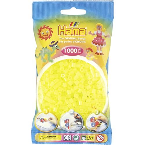 Hama Strijkkralen Neon Geel (034)