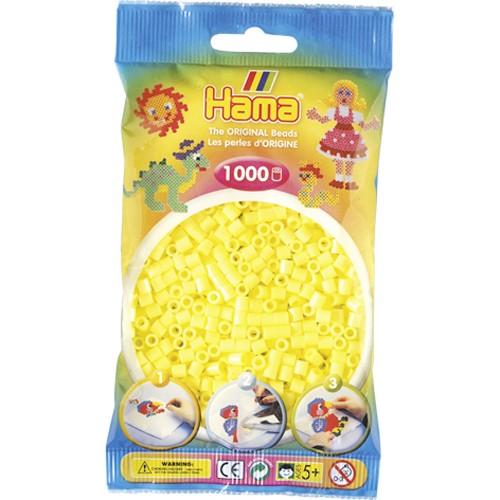 Hama strijkkralen pastel geel (043)