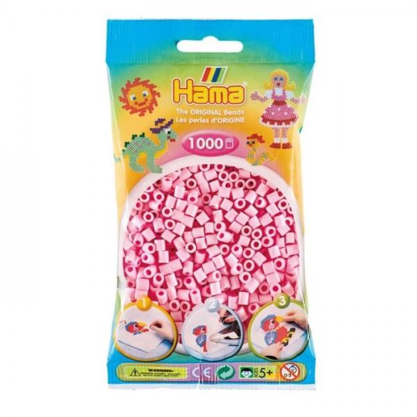 Hama Strijkkralen roze pastel (95)