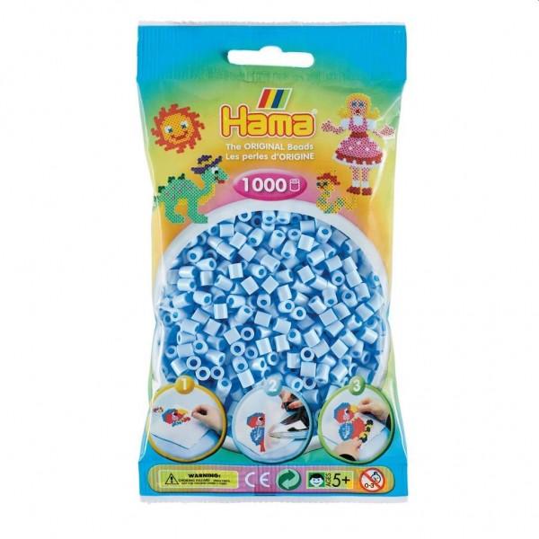 Hama Strijkkralen 1000 IJsblauw Pastel (97)