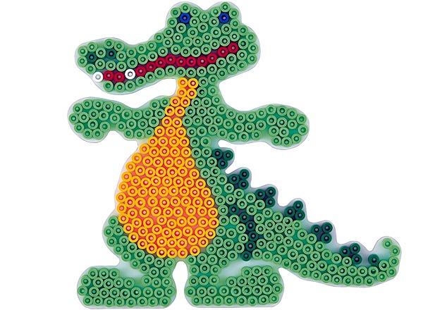 Hama Strijkkralen Grondplaat krokodil (0259)