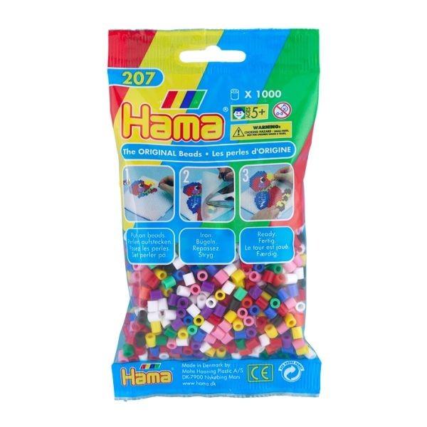 Hama Strijkkralen Primaire kleuren (207-00)