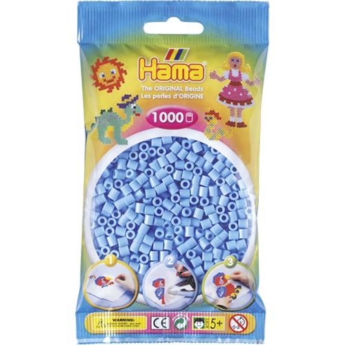 Hama strijkkralen blauw (1046)