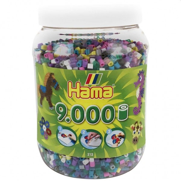 Hama Strijkkralen in Pot (9000)