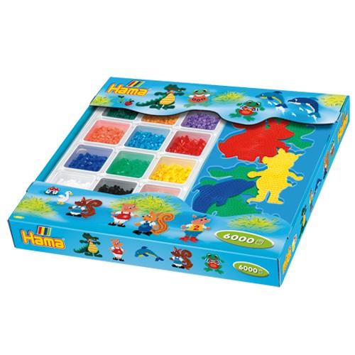 Hama Strijkkralen Giftbox 6000 delig