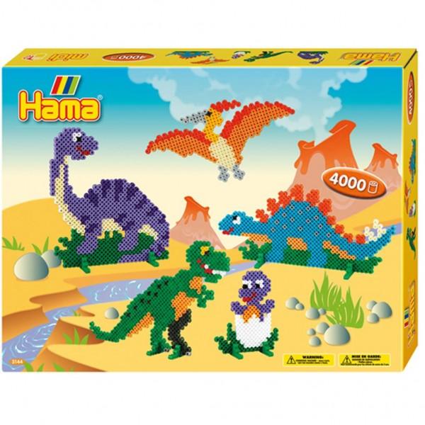 Hama Giftbox Dinosaurs 4000 stuks