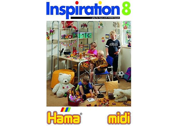 Strijkkralen inspiratieboek 8 Hama
