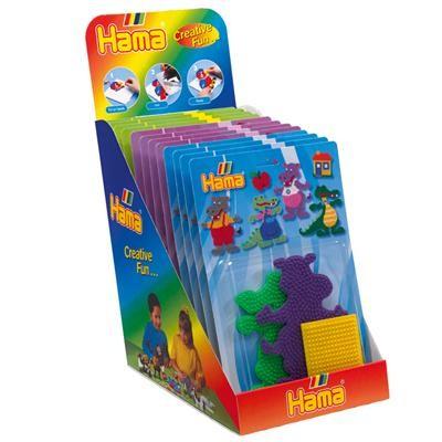 Strijkkralen grondplaten Hama