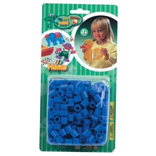 Hama Maxi Strijkkralen - Blauw 300