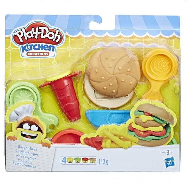 Play Doh Burger Bash