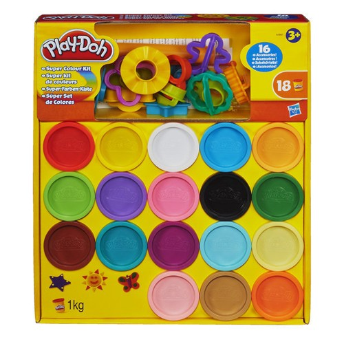 Playdoh Super Color Kit
