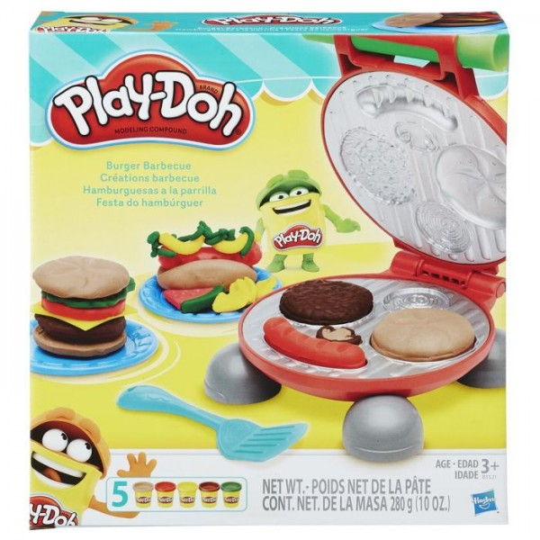 Play - Doh Burger Barbeque