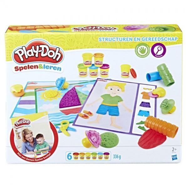 Play-Doh Structureren & Gereedschap
