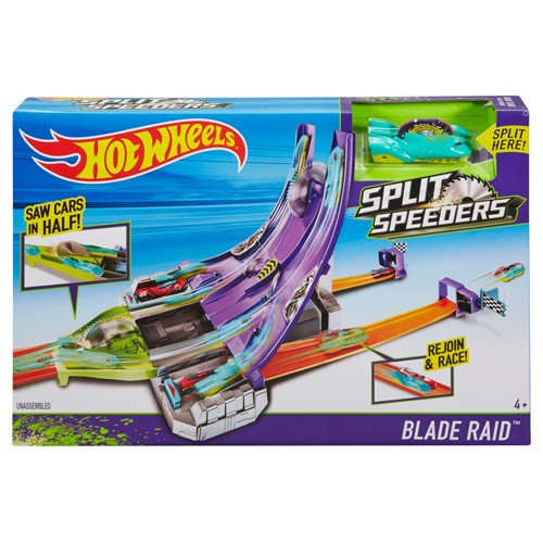 Hot Wheels Split Speeders Blade Raid
