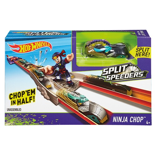 Hot Wheels Split Speeders Ninja Chop