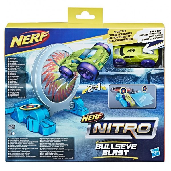 Nerf Nitro Double Action Stunt Foam Car