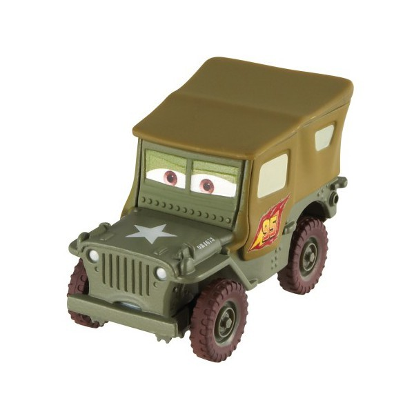 Cars 2 diecast auto assortiment for Sarge automobiles garage serus