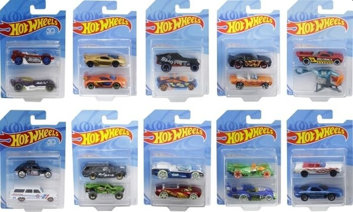 Hot Wheels 2-Pack