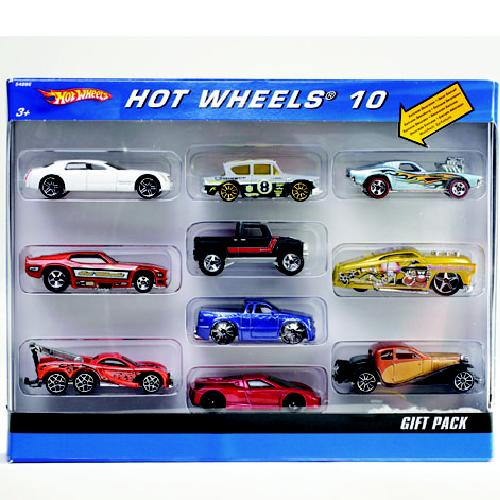 Hot Wheels Auto 10-Pack