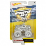 Hot Wheels Monster Jam 25th Silver 1:64