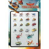 Planes Die-Cast Fire and Rescue