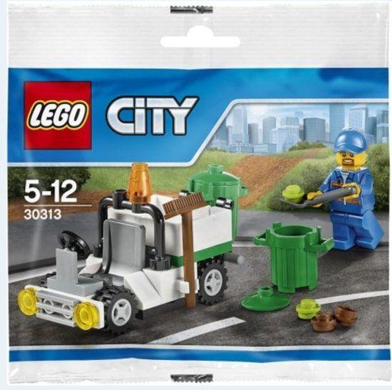 30313 Lego City - Afvaldienst Polybag