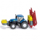 1799 Siku Tractor New Holland + Kverneland
