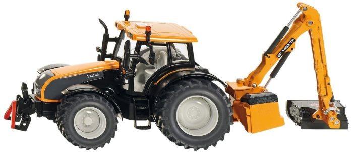 3659 Siku Tractor met Bermmaaier