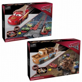 Cars 3 Transforming Mater And Blue McQueen