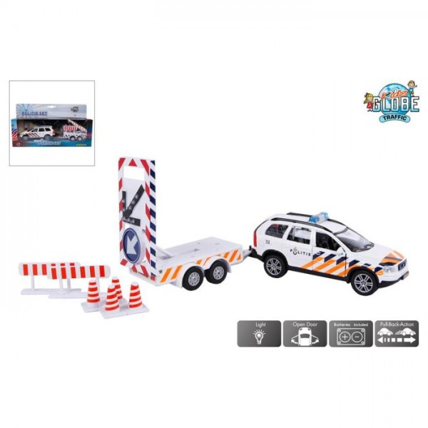 Kids Globe Politieauto Volvo XC90