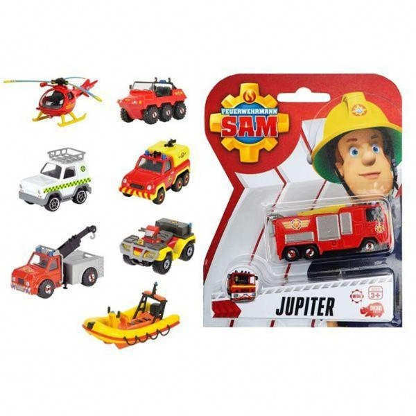 Brandweerman Sam Diecast