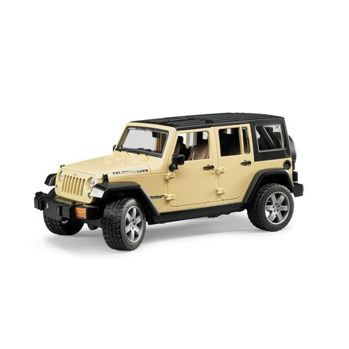 2525 Bruder Jeep Wrangler Unlimited Rubicon