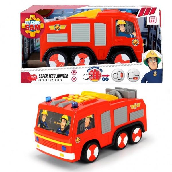 Brandweerman Sam Brandweerauto Programmeerbaar