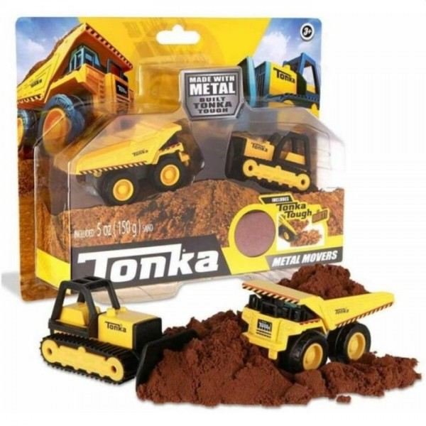 Tonka Mighty Dump And Bull Dozer