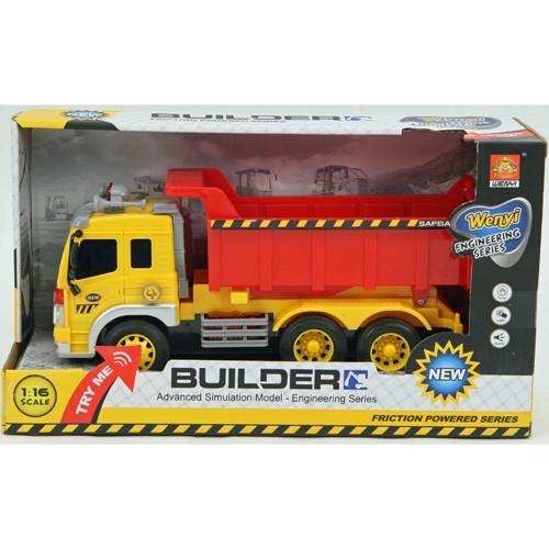 Vrachtwagen constructie